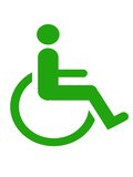 Disabled symbol Stock Photography