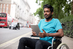 Disabled technology Stock Images