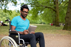 Disabled technology Royalty Free Stock Images