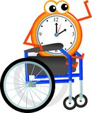 Disabled time Stock Photography