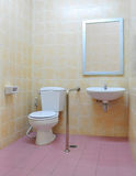 Disabled toilet Royalty Free Stock Photo