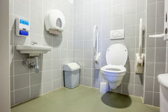 Disabled toilet Stock Photography