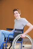 Disabled young man Stock Photo