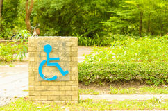 Disabletecken Royaltyfri Fotografi