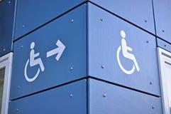 Disabletillträdestecken Royaltyfri Bild