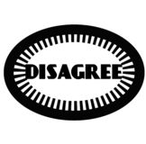 DISAGREE stamp on white. Background. Signs and symbols series vector illustration