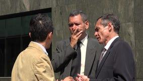 Disagreement Among Business Men. Older business men or executives royalty free stock photography