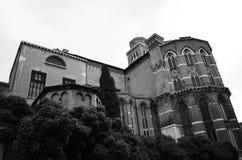 DiSanta Maria Gloriosa dei Frari van de basiliek Stock Foto's