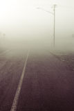Disappearing road Royalty Free Stock Photos