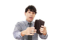 Disappointed Asian businessman Stock Images