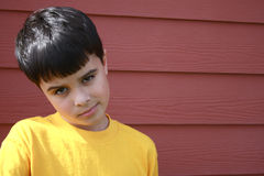 Disappointed Boy stock image