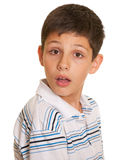 Disappointed boy Royalty Free Stock Photos