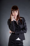 Disappointed business woman Stock Photography