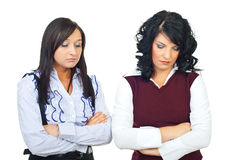 Disappointed business women Stock Images