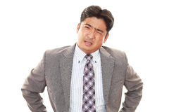 Disappointed businessman Royalty Free Stock Images