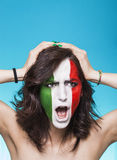 Disappointed italian supporter for FIFA 2014 Royalty Free Stock Image