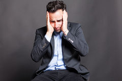 Disappointed man Royalty Free Stock Photo