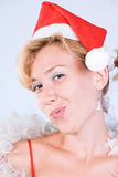 Disappointed Santa Claus Royalty Free Stock Photos
