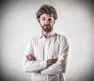 Disappointed young man Royalty Free Stock Photo