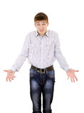 Disappointed Young Man Stock Photography