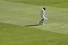 Disappointing innings Royalty Free Stock Photos
