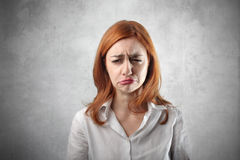 Disappointment Stock Image