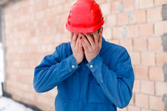 Disappointment - Facepalm Royalty Free Stock Photography