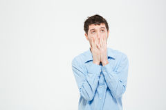 Disappointment man Stock Images