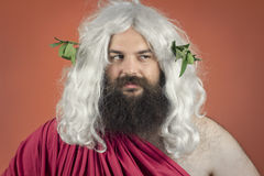 Disapproving God Royalty Free Stock Photo