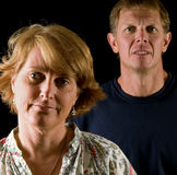 Disapproving parents Stock Photos