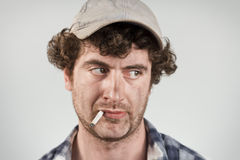 Disapproving Redneck Royalty Free Stock Image