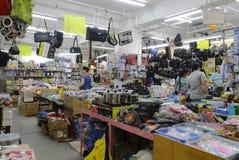 Disarray department store. In hong kong city royalty free stock photos