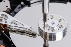 Disassemble Hard disk drive Stock Photography