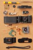Disassembled Camera Stock Photos
