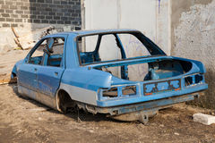 Disassembled car body Royalty Free Stock Images