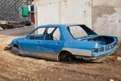 Disassembled car body Royalty Free Stock Image