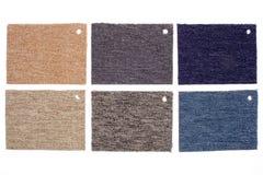 Disassembled carpet catalog Stock Photo