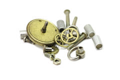Disassembled clockwork Stock Photography