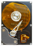 Disassembled computer hard disk Stock Photo