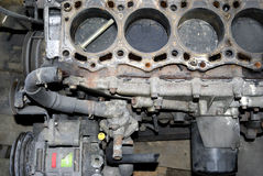 Disassembled engine Stock Images
