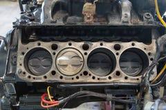 Disassembled engine Stock Image