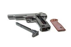 Disassembled gun,  Royalty Free Stock Photo