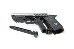 Disassembled gun,  Royalty Free Stock Photos