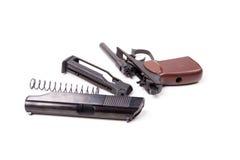 Disassembled gun,  Stock Photos