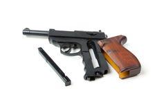 Disassembled gun,  Stock Images