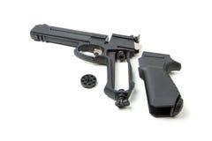 Disassembled gun,  Stock Photo