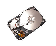 Disassembled hard disk drive Stock Image