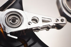 Disassembled hard disk drive Royalty Free Stock Photography