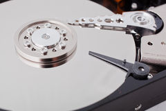 Disassembled hard drive Stock Images