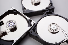Disassembled hard drive Royalty Free Stock Images